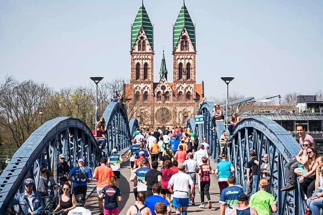 Am 29. März heißt es wieder: Freiburg läuft.  | Foto: Baschi Bender