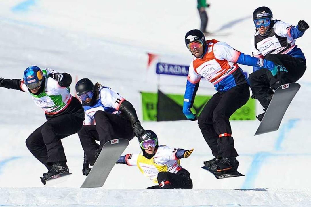Snowboarder in Aktion  | Foto: © Hochschwarzwald Tourismus GmbH