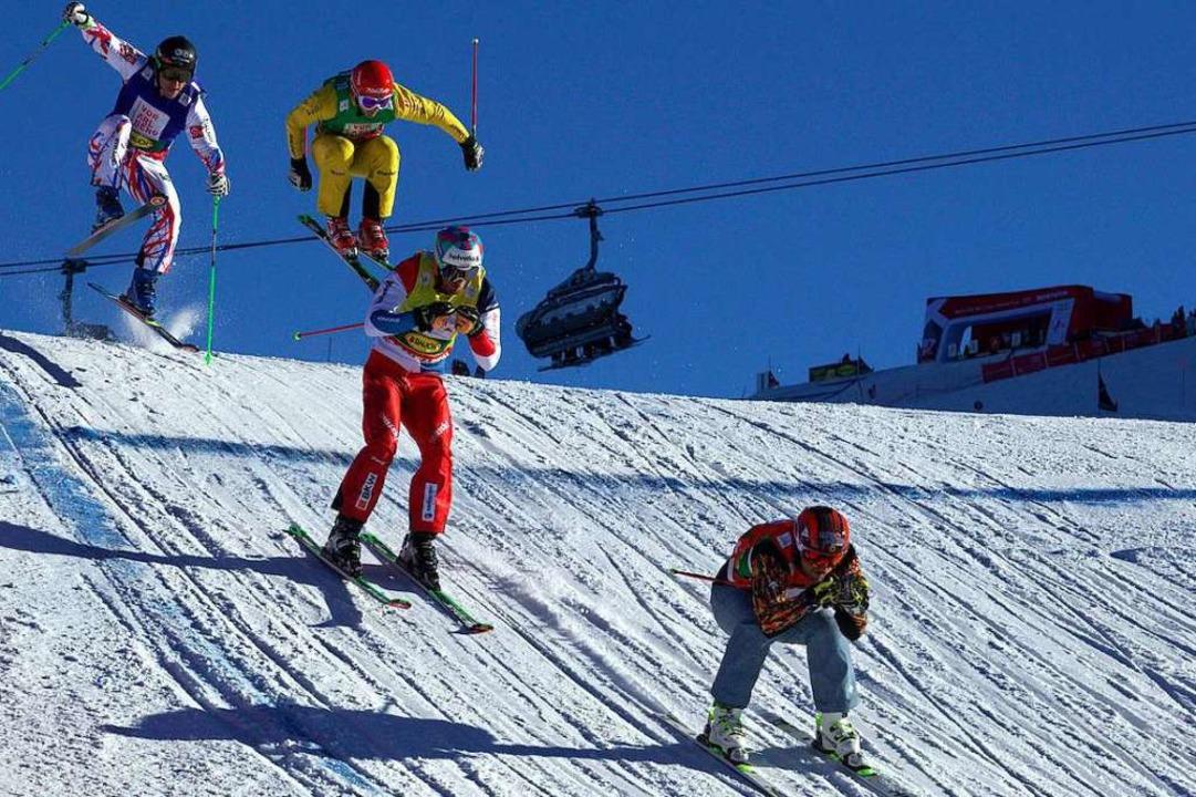 Ski-Crosser am Seebuck  | Foto: © DSV Kirsten Drewer / © Hochschwarzwald Tourismus GmbH