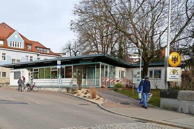 Der Wettbewerb für den alten Rheinfelder Zollpavillon läuft