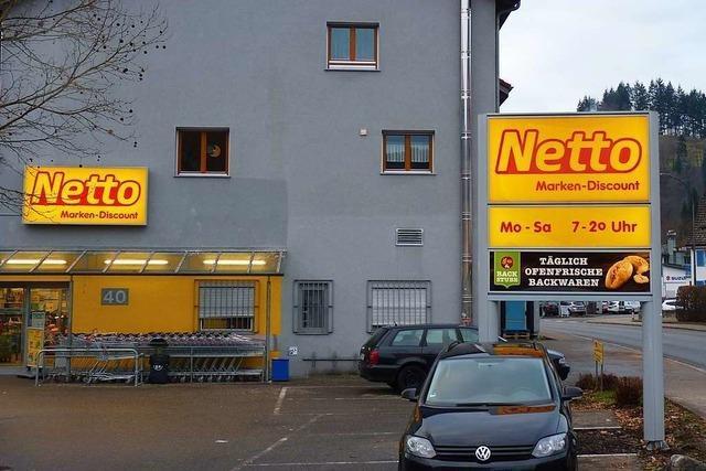 Netto erweitert den Markt in Schönau