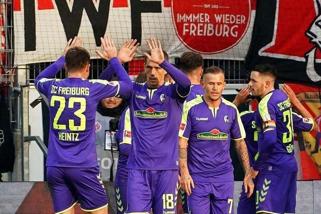 SC Freiburg feiert mit einem 2:1 den ersten Erstliga-Auswärtssieg in Mainz