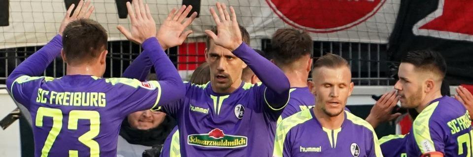 SC Freiburg feiert mit einem 2:1 seinen ersten Erstliga-Auswärtssieg in Mainz