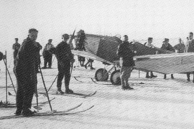 Vor 90 Jahren landete erstmals ein Flieger auf dem Feldberg – im Schnee