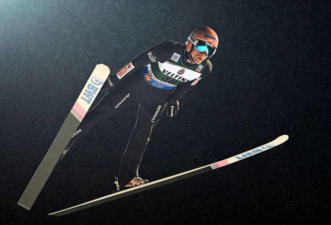 In der Qualifikation am Freitag war Kubacki auf Platz 8 gelandet    Foto: Patrick Seeger (dpa)