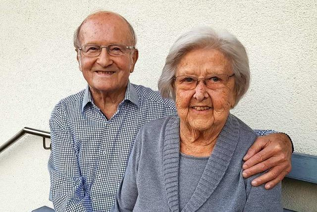 Dieses Paar aus Schweighausen ist seit 70 Jahren verheiratet