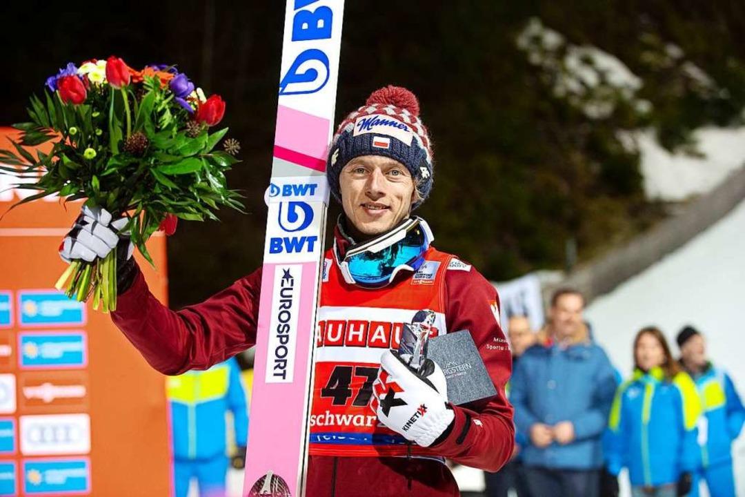 Sieger David Kubacki  | Foto: Wolfgang Scheu