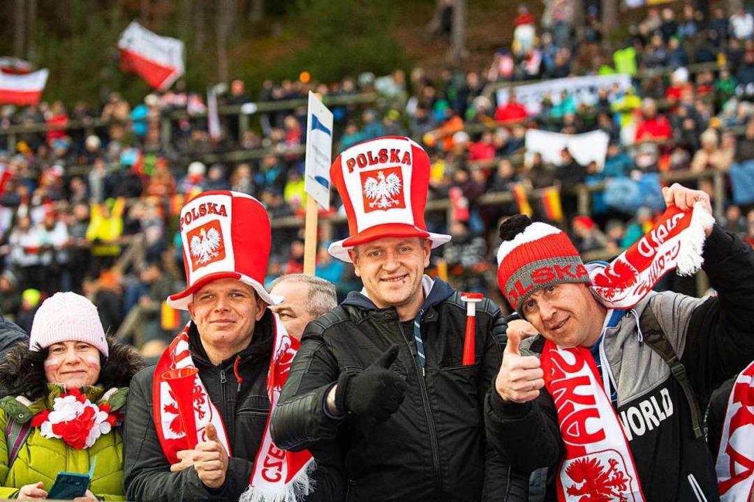Fans aus Posen  | Foto: Wolfgang Scheu