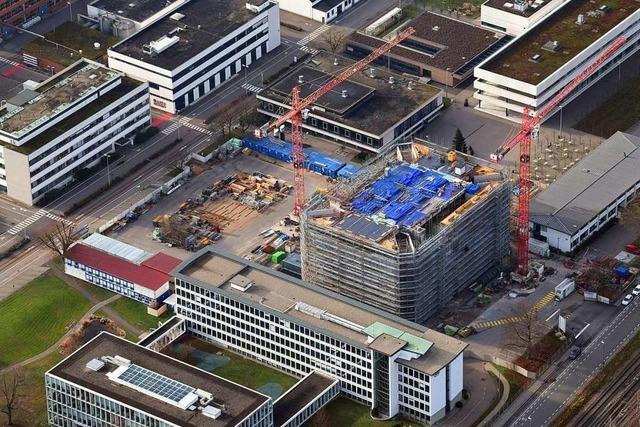 Zu Besuch auf der 60-Millionen-Euro-Baustelle in Grenzach-Wyhlen