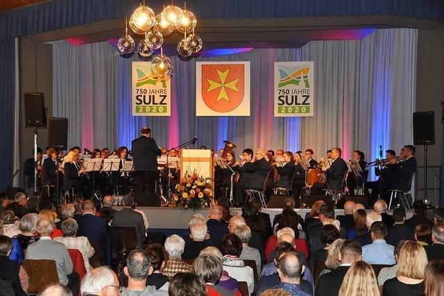 Sulz eröffnet mit einem Festbankett das Jubiläumsjahr