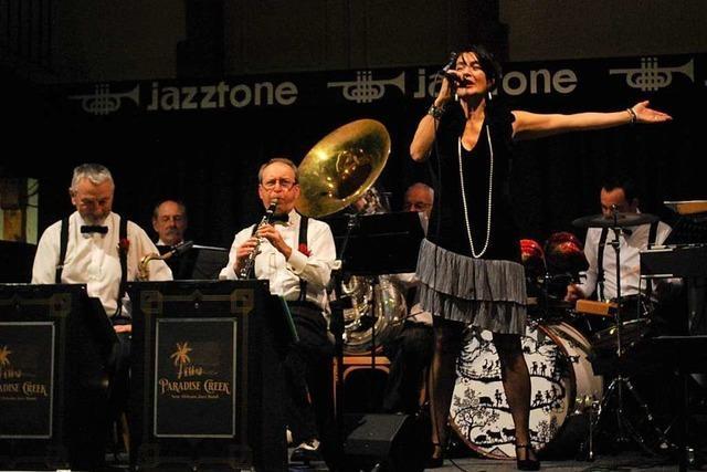 Paradise Creek Jazzband bringt lässig swingenden Sound ins Jazztone