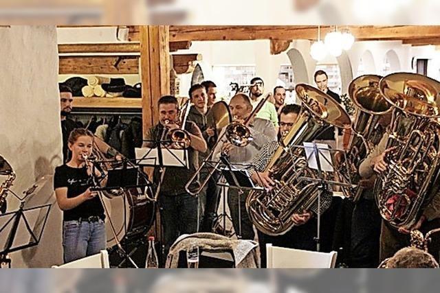 Trachtenkapelle Herrischried hat starke Jugend