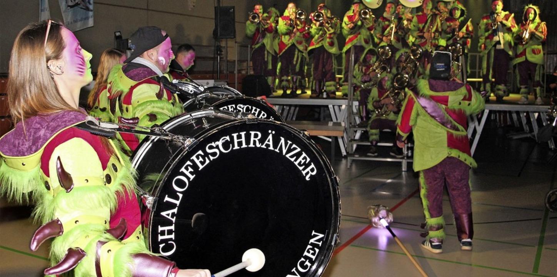 Mit Schweizer Paukenschlägen  startete...treffen der HKG  in der Breisgauhalle.  | Foto: Werner Schnabl
