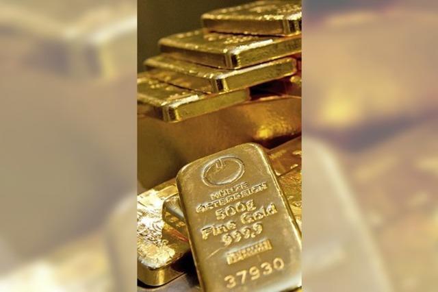 Großer Goldvorrat soll geheim bleiben
