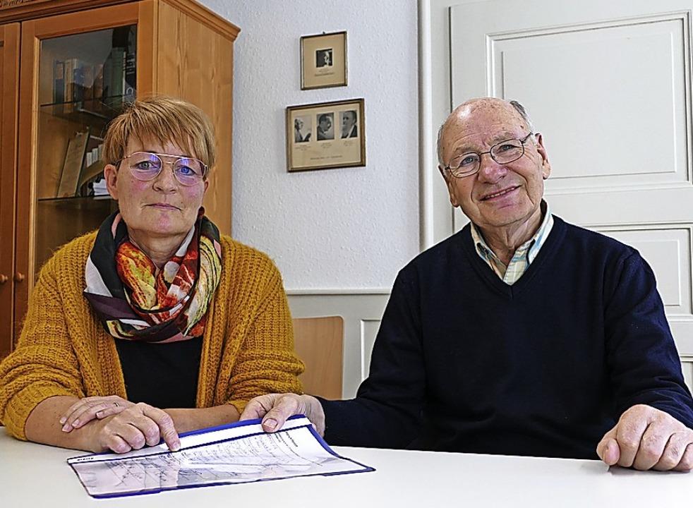 Susanne Kirchschlager und Hans-Peter J...h die Verkehrsbehörde eingedämmt wird.  | Foto: Stefan Limberger-Andris