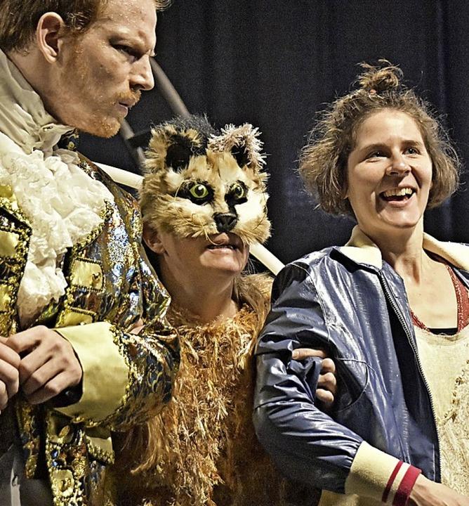 """Das Theater Baal spielt  """"Die gestiefelte Katze"""".    Foto: Gerhard Vaternahm"""