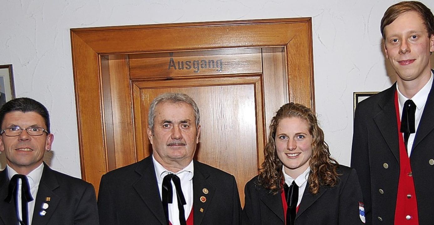 Die alten und neuen Vorsitzenden: Brun...a Singler und Christoph Wangler (neu)   | Foto: Walter Schmidt