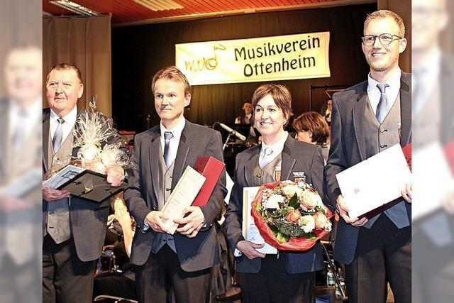 Ehrungen beim MV Ottenheim