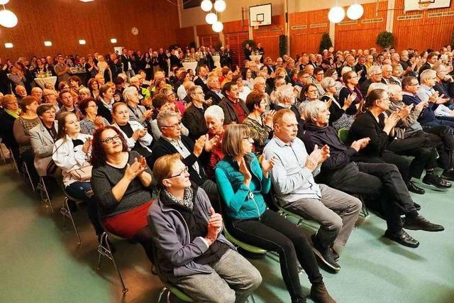 In Efringen-Kirchen gibt es Fagottmusik und Gugelhupf