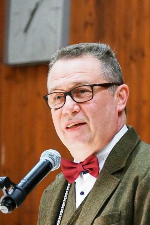 Bürgermeister Philipp Schmid plädierte... generationengerechte Ausgabenpolitik.    Foto: Herbert Frey