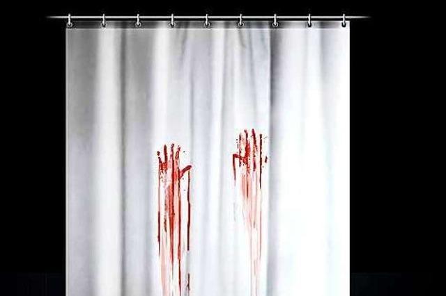 Hitchcocks Psycho-Duschvorhang für das Badezimmer