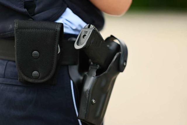 48-Jähriger schießt in Lörrach mit einer Schreckschusswaffe