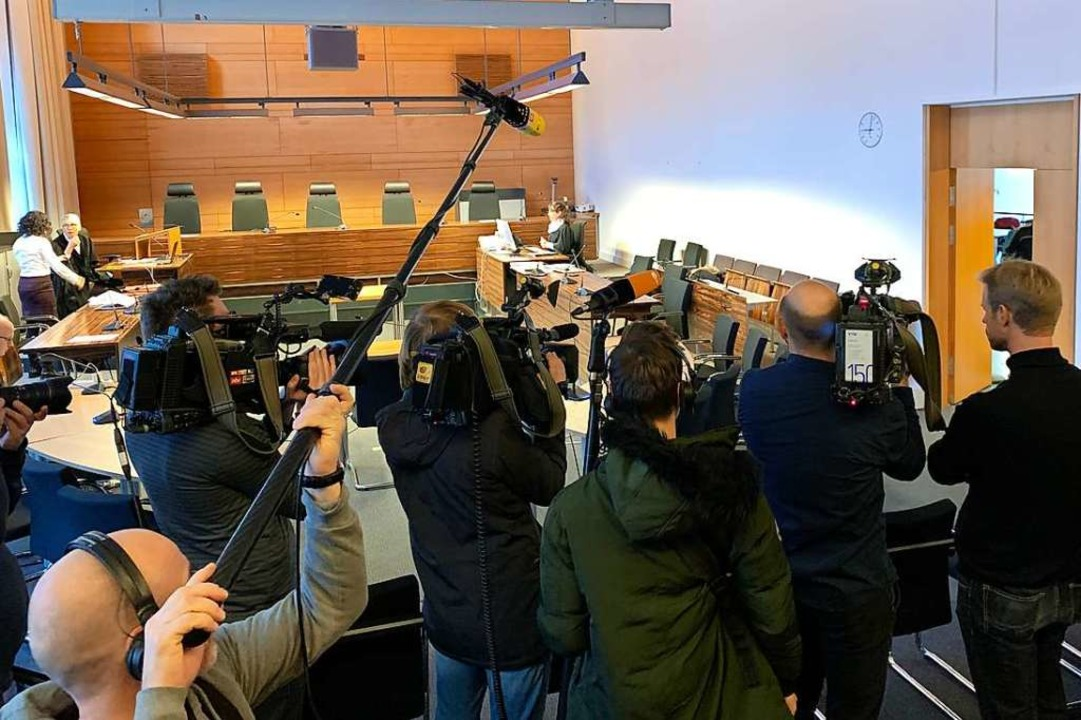 Das Medieninteresse am Pfadfinder-Proz...urde jedoch weitgehend ausgeschlossen.  | Foto: Peter Sliwka