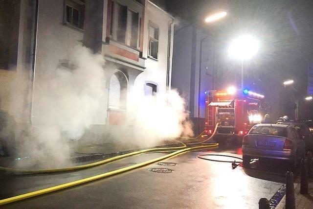 15 000 Euro Schaden nach Kellerbrand in Schopfheim
