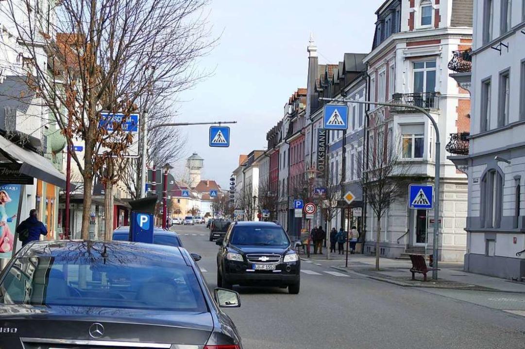 Die Qualität der Friedrichstraße für d...el ist dem Gewerbeverein sehr wichtig.  | Foto: Ingrid Böhm