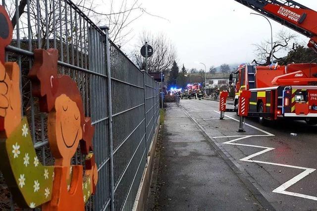 Ermittler vermuten technischen Defekt als Brandursache im Kindergarten