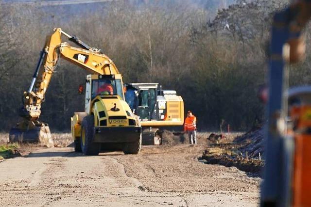 Die Bauarbeiten für das Zentralklinikum in Lörrach beginnen