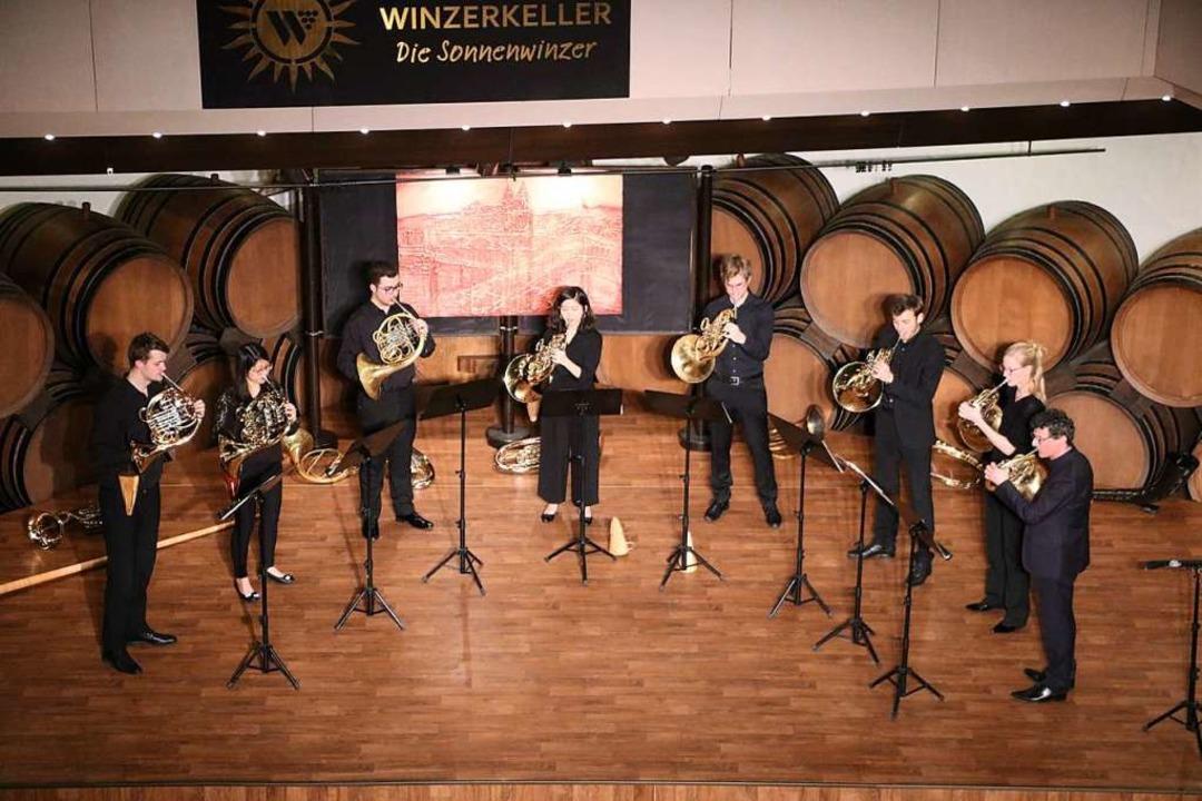 Für ausverkaufte Konzertabende sorgte ...Hornkonzert im Badischen Winzerkeller.  | Foto: Claudia Müller