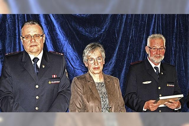 In fast 50 Jahren Feuerwehrdienst jede Probe besucht