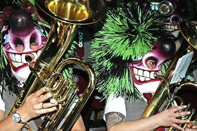 Guggenmusiker entern Todtmoos