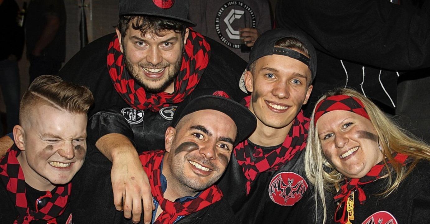 Fans und Gugger feierten gemeinsam bei...mooser Wehratalhalle eine große Party.  | Foto: Andreas Böhm