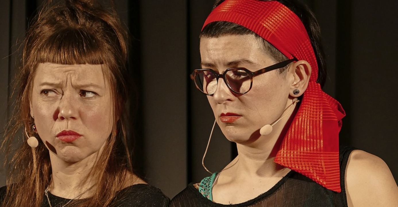 Sibylle Mummenthaler und Emilia Haag  | Foto: Martina David-Wenk