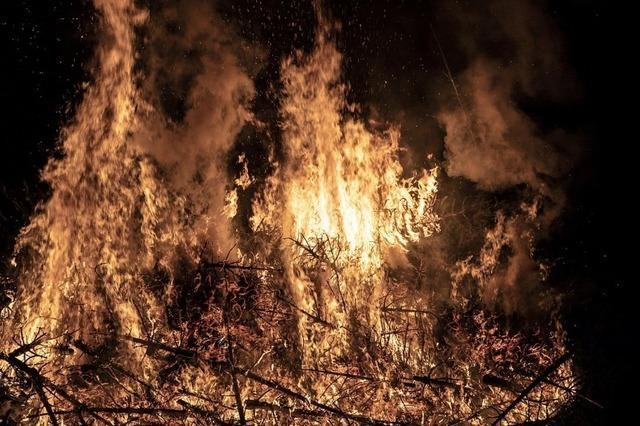 In Flammen aufgegangen