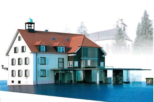 Altes Rathaus in Kirchzarten soll für 2,1 Millionen Euro umgebaut werden