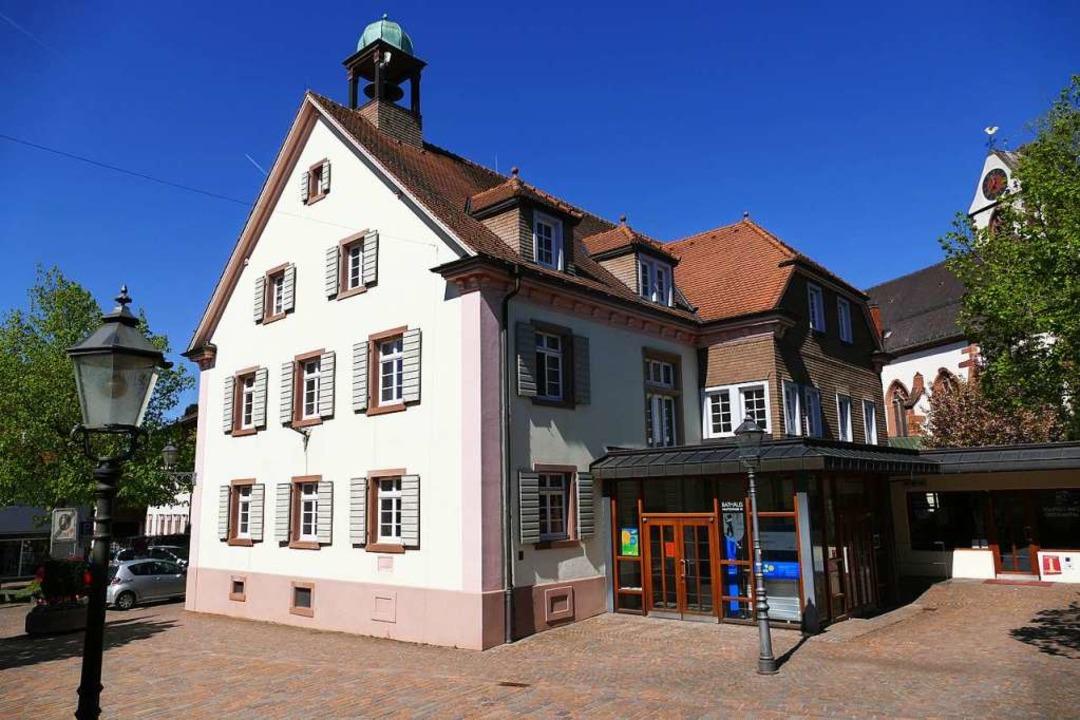 Das Alte Rathaus nach Umzug der Verwaltung in die Talvogtei-Scheunen  | Foto: Markus Donner