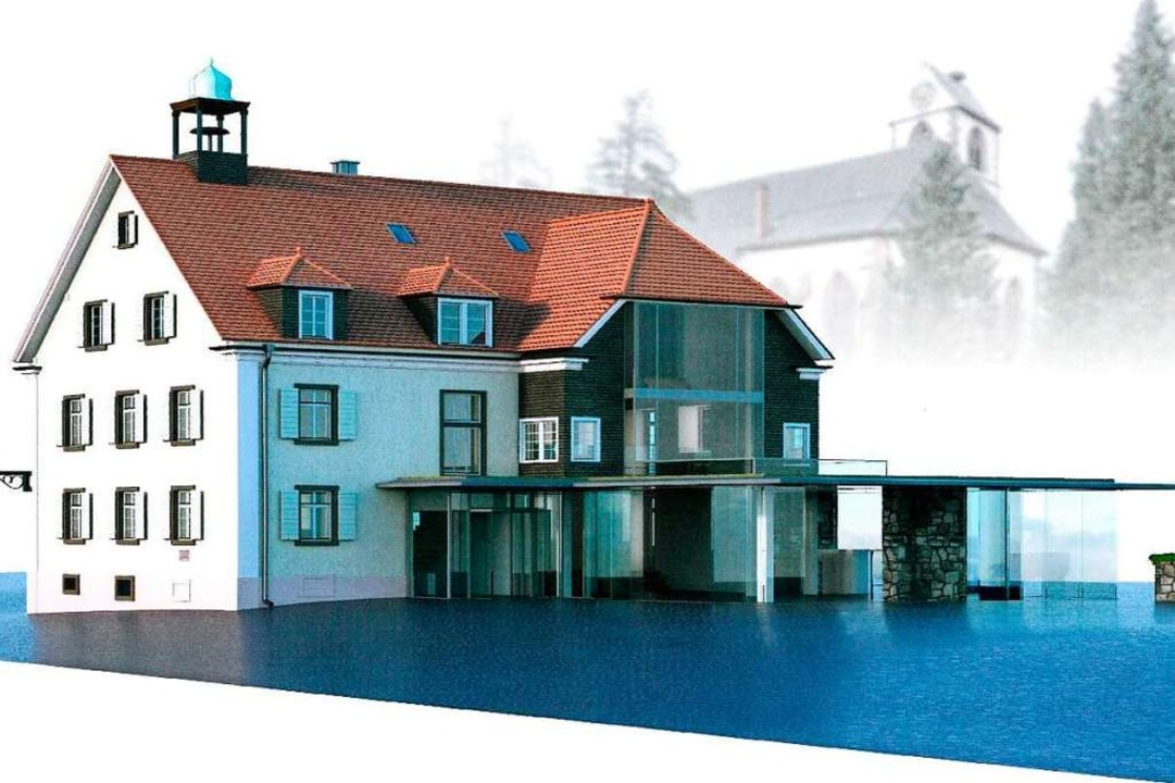 So könnte das Alte Rathaus nach seiner Erneuerung aussehen.  | Foto: H24