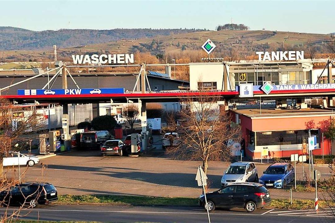 Waschen, Tanken und Energie wird seit ...lage und das Angebot erweitert werden.  | Foto: Wolfgang Beck