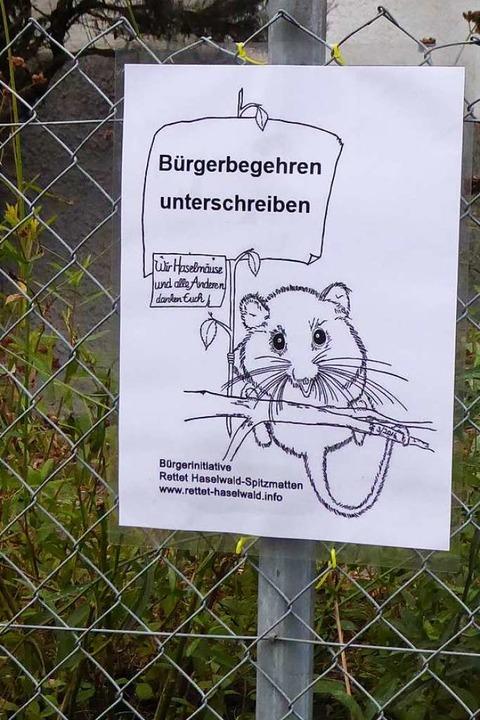 Das neue Plakat der Bürgerinitiative mit dem bekannten Motiv   | Foto: Sylvia-Karina Jahn