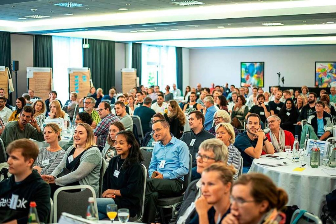 160 ausgeloste Bürger nahmen in Leipzi...r ihnen waren auch zehn Friesenheimer.  | Foto: Mehr Demokratie