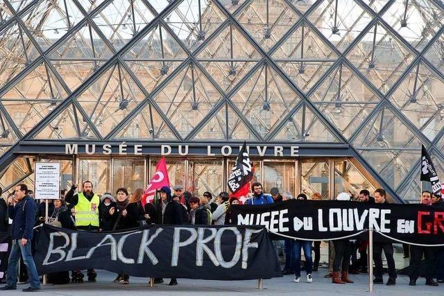 Die Streikfront in Frankreich beginnt zu bröckeln
