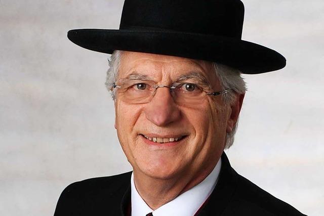 Alfred Vonarb war 36 Jahre lang im Einsatz für Tracht und Tradition