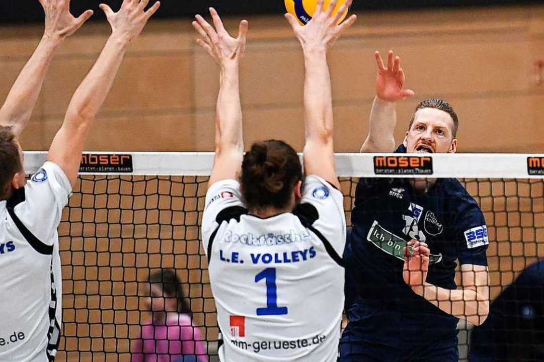 Am Wochenende verloren die FT-Volleyballer 2:3 gegen Leipzig,  | Foto: Patrick Seeger