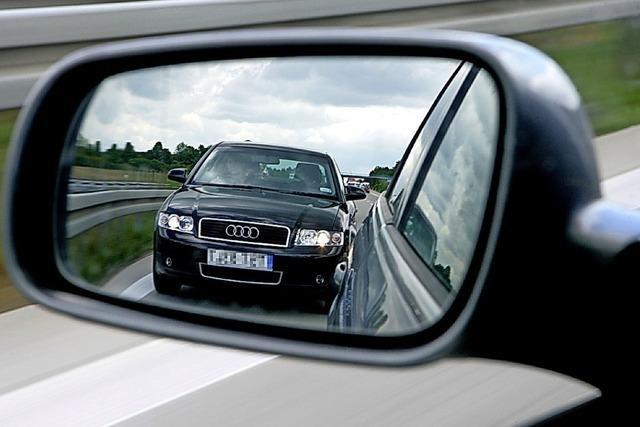 Prozess am Amtsgericht Freiburg um Autobahndrängelei auf der A5