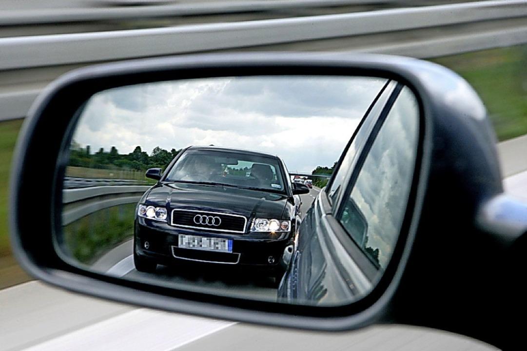 Dass auf der Autobahn gedrängelt wird,... wohl weniger häufig vor (Symbolbild).  | Foto: Z1022 Patrick Pleul
