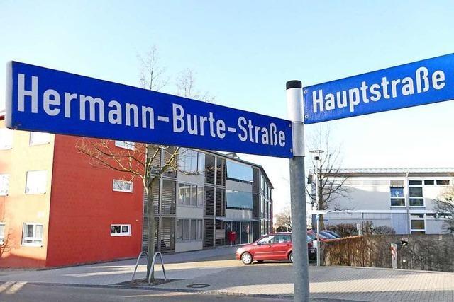Efringen-Kirchens Halle soll ab sofort nicht mehr Hermann-Burte-Halle heißen