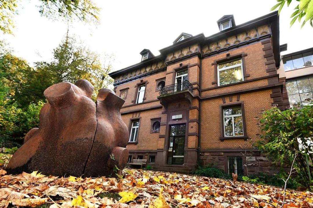 Die Villa wird heute als städtisches Atelierhaus genutzt.     Foto: Thomas Kunz